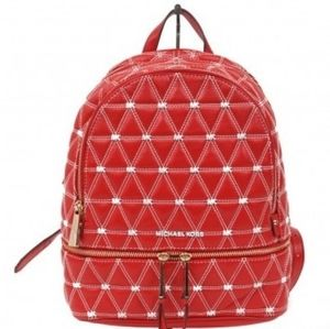 NEW Michael Kors Monogram Quilted Backpack